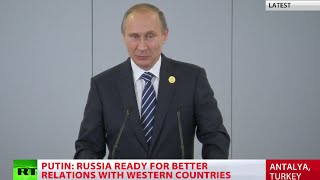 ISIS financed from 40 countries, including G20 members – Putin (FULL SPEECH)