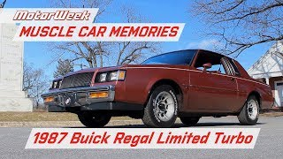 1987 Buick Regal Limited Turbo: The Velour-Lined Rocket | MotorWeek