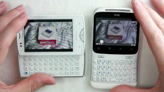 HTC ChaCha vs. Sony Ericsson Xperia mini Pro (SK17i) - German