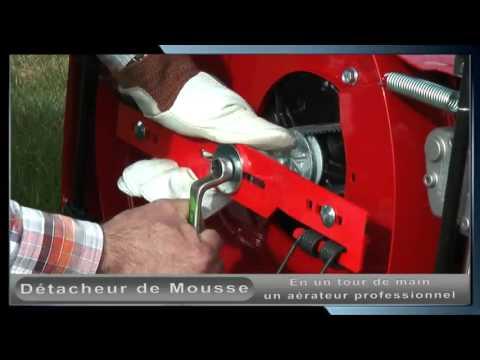 Jardin bricolage promo video aerateur d tacheur de mousse - Comment faire un degrade homme tondeuse ...