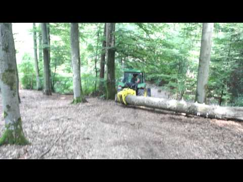 Jondeere, Forst Rückezange