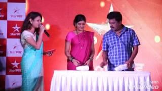 Anchor Mayuri Hosting for Star Pravaha - Nakushi serial Promotion