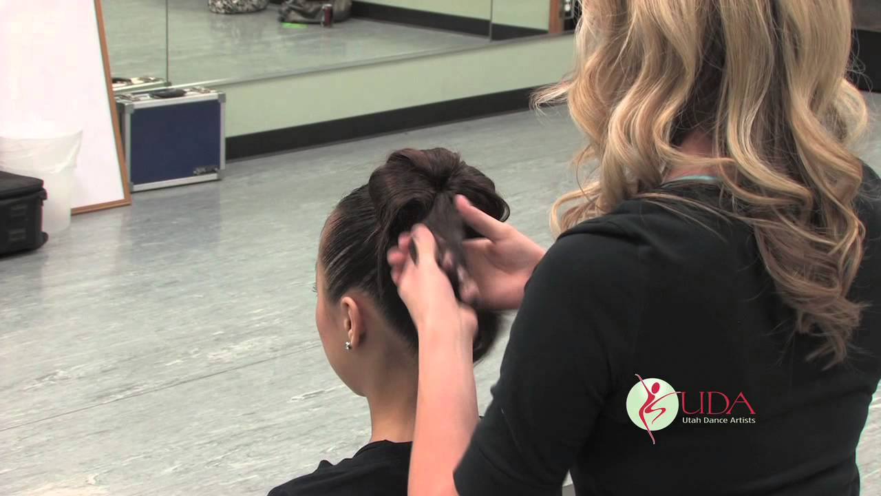Hairstyles For Modern Dance : Dance competition hair demonstration utah artists
