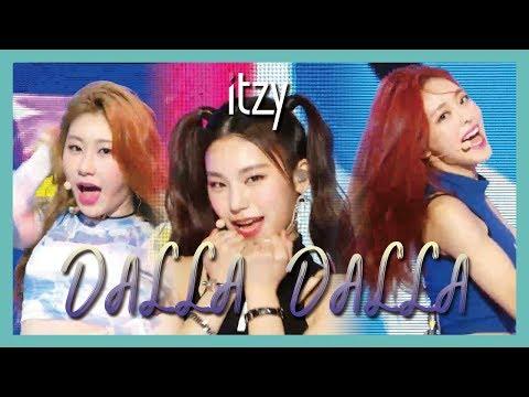 Download HOT ITZY - DALLA DALLA ,  있지 - 달라달라 show  core 20190309 Mp4 baru