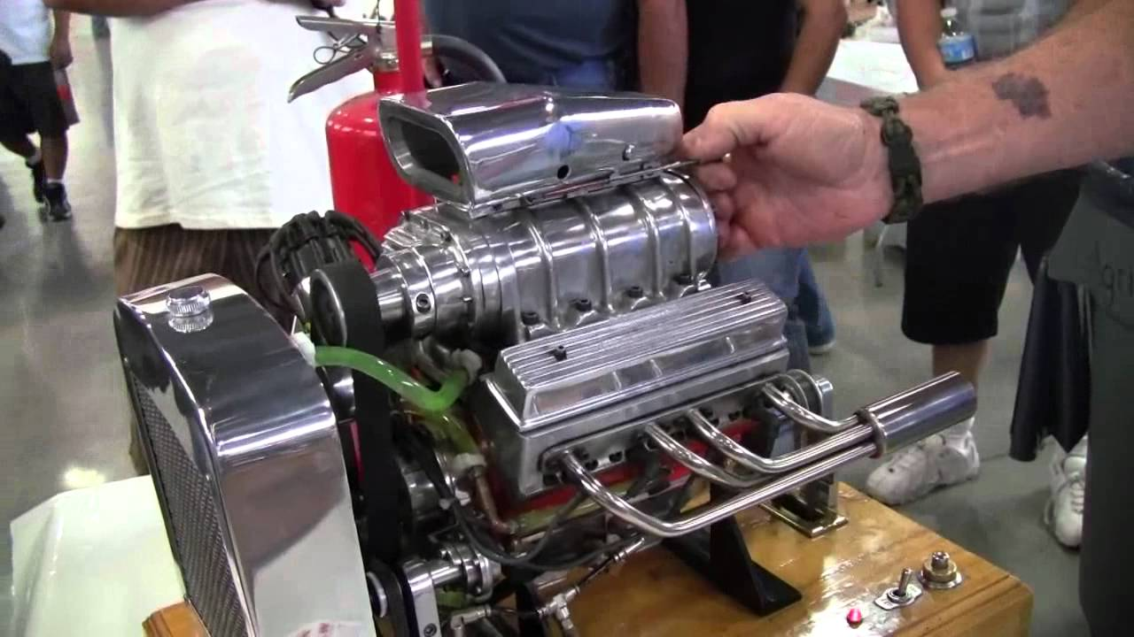 miniature blown v8 engine youtube. Black Bedroom Furniture Sets. Home Design Ideas