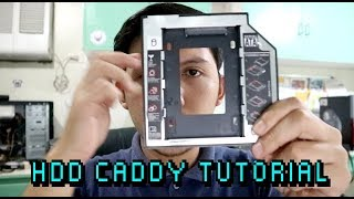 SATA 2nd HDD/SSD Hard Drive Caddy  for Laptop Review and Tutorial Filipino ASUS X441UR