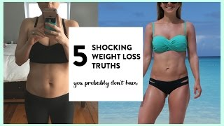 5 Shocking Weight Loss Truths People Don't Know | ADVICE