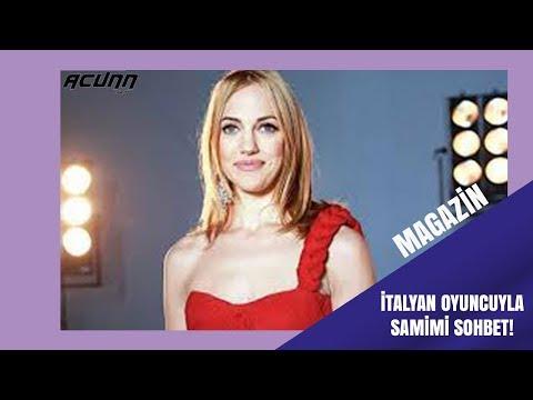 İtalyan oyuncuyla samimi sohbet!