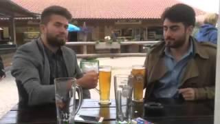 Türk gencinden Alman'a tokat gibi cevap: Bira içmeyi sizden öğrenecek değiliz
