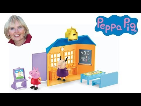 ♥♥ Peppa Pig School House Playset video