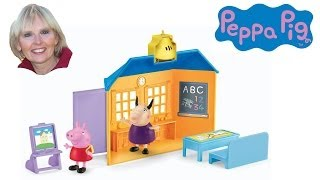 ♥♥ Peppa Pig School House Playset