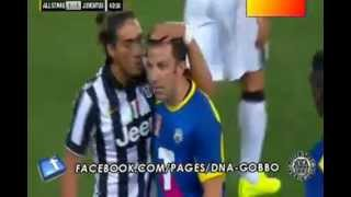 Video di post-partita applausi per Alex  Del Piero  All Star - Juventus. 10/08/2014