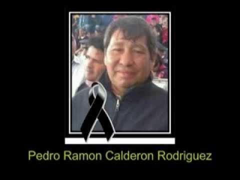 Homenaje de la ENIBG al Sr Ramon Calderon