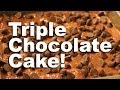 Triple Chocolate Cake Recipe - GardenFork.TV