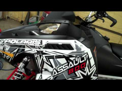 2012 Polaris 800 Switchback Assault 144 International