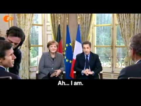 Merkel and Sarkozy in Love