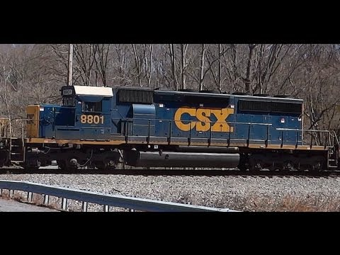 CSX Train Q398 Crossing Newport Road