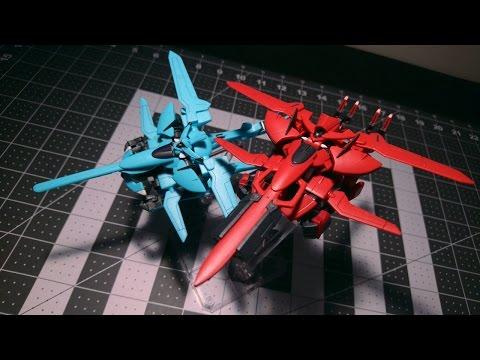 HG Agrissa + Demonstration Enact   CITRUS REVIEWS   Gundam 00