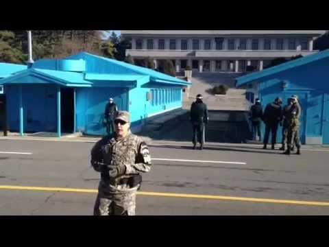 Joint Security Area and DMZ Tour, November 2012