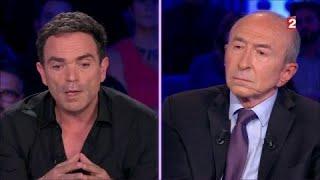Yann Moix interroge Gérard Collomb sur le trafic d'exilés qui existerait en Italie #ONPC