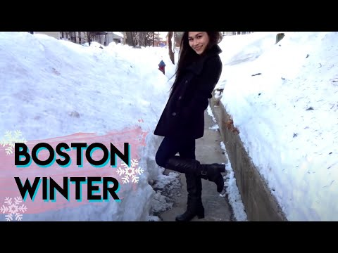 TRAVEL WITH ME: BOSTON VLOG | Snowy Winter Trip!