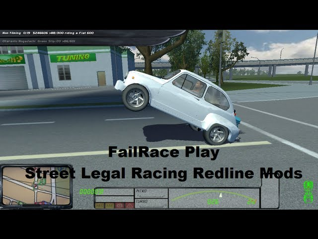 FailRace Play Street Legal Racing Redline Mods