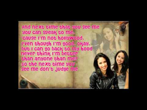 Cool Girl By Jasmine Villegas Lyrics! On Screen Hd! video