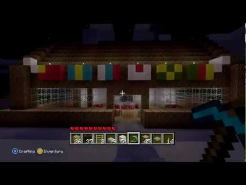 #Minecraft Krusty Crab Build showcase [XBOX 360]