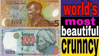 Top six most beautiful currency of the world