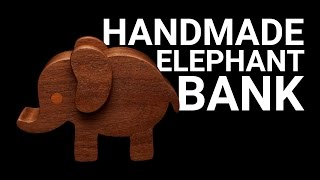 How To Make a Handmade Elephant Bank