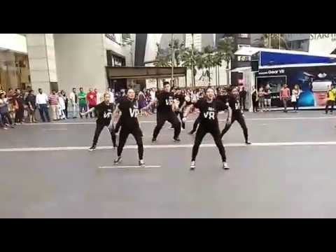 Street Dance at pavilion in malaysia