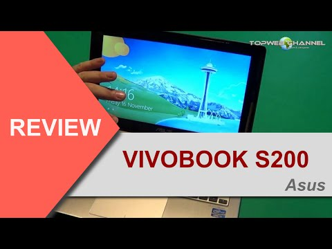 ASUS vivobook S200 - HANDS-ON