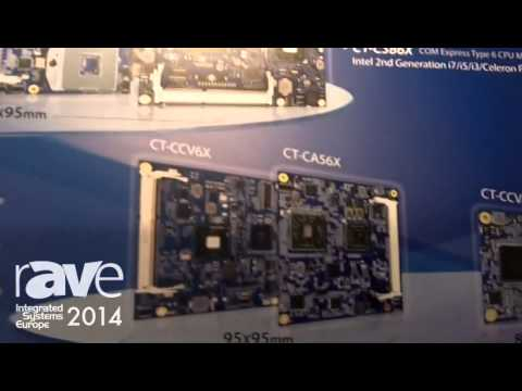 ISE 2014: C&T Solution Demos COM Express Modules in Different Sizes and Power Solutions