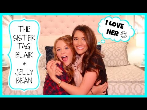 ♥ The Sister Tag! Blair & Jelly Bean ♥ video