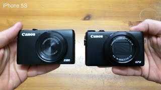 Canon G7X vs S120 Which is The Best YouTube Vlogging Camera 2016 ?