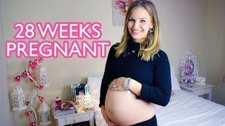 28 WEEK PREGNANCY VLOG!