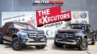 THE EXECUTORS (MERCEDES X CLASS) AutoCraze X Flares // KMC XD Wheels