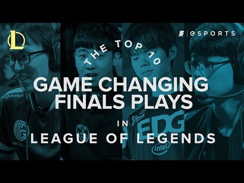 The Top 10 Game Changing Domestic Finals Plays in League of Legends