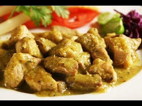 Cocinar guisado de res en salsa verde (Facil y Rapido)