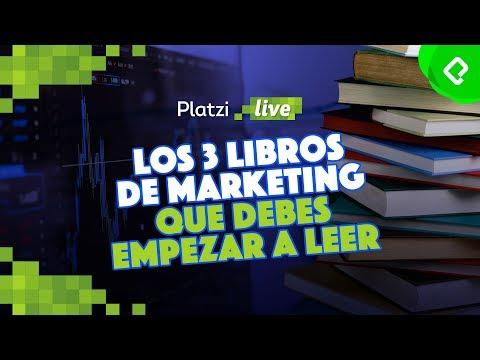 Los 3 libros de marketing que necesitas leer | PlatziLive