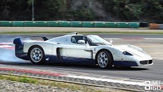 POWERSLIDING a £2m Maserati MC12! | EXPERIENCE