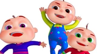 Five Little Babies Jumping On The Bed | 3d Rhymes | Nursery Rhymes For Babies