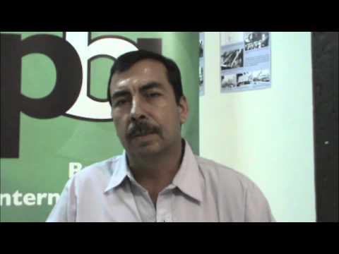 Álvaro Sandoval, defensor de DDHH La Puya