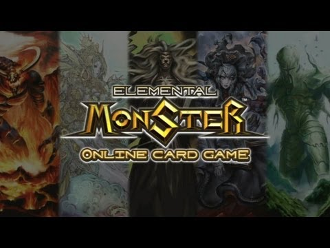 CGR Undertow - ELEMENTAL MONSTER: ONLINE CARD GAME review for PlayStation 3