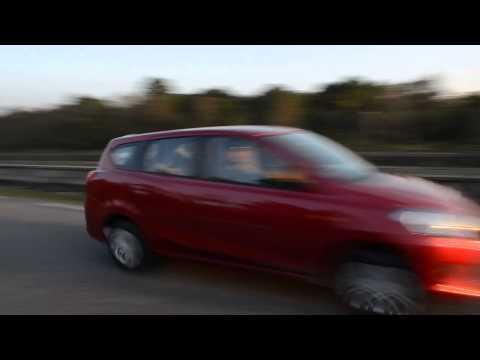 Datsun Go+: Motion Shot