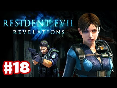 Resident Evil Revelations - Gameplay Walkthrough Part 18 - Tangled Webs (3DS. PS3. XBox 360)