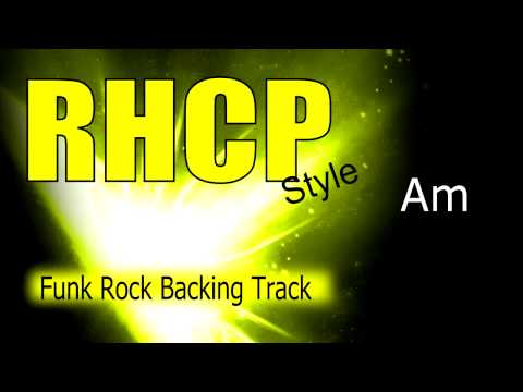 Funk Rock RHCP Style Guitar Backing Track 94 Bpm Highest Quality
