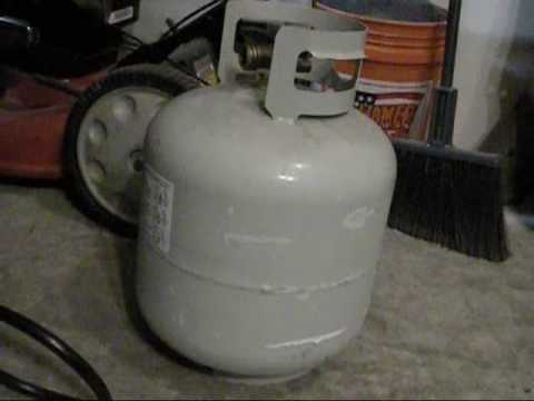 Century Propane Heater Review 55.000 BTU torpedo type