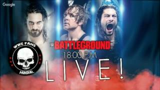 WWE Battleground 2016 NARRANDO EN VIVO! #WFMBattleground