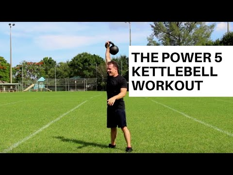 Kettlebell Workout: The 'Power 5' Single Kettlebell Complex Image 1